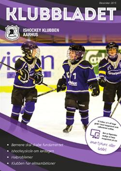 ishockey klubben aarhus klubbladet december 2015