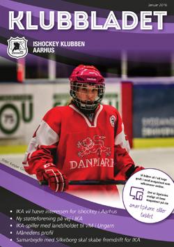ishockey klubben aarhus klubbladet januar 2016