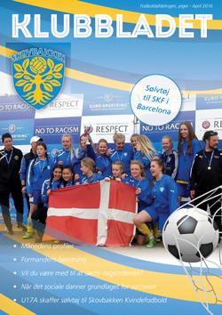 skovbakken kvindefodbold klubbladet april 2016