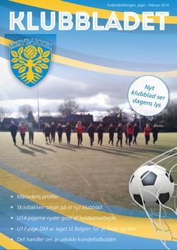 skovbakken kvindefodbold klubbladet februar 2016