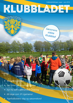 skovbakken kvindefodbold klubbladet juni 2016