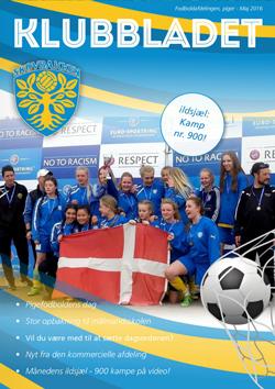 skovbakken kvindefodbold klubbladet maj 2016