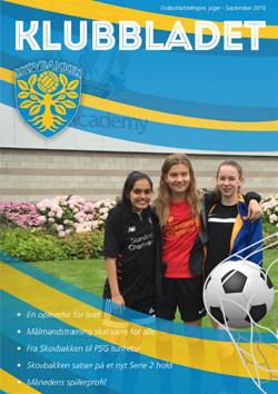 skovbakken kvindefodbold klubbladet september 2016