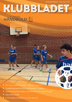 lyseng håndbold klubbladet december 2016