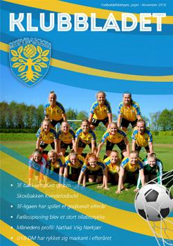 skovbakken kvindefodbold klubbladet december 2016