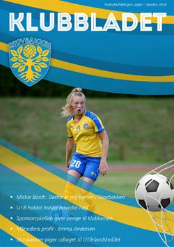 skovbakken kvindefodbold klubbladet oktober 2016